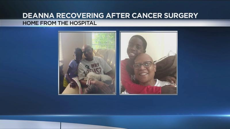 News10NBC's Deanna Dewberry shares after surgery update with all smiles