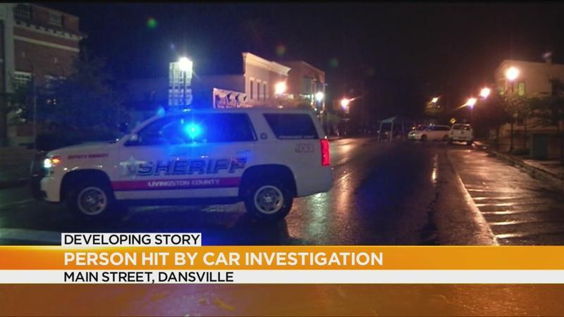 police investigate after person hit by car in dansville rochester