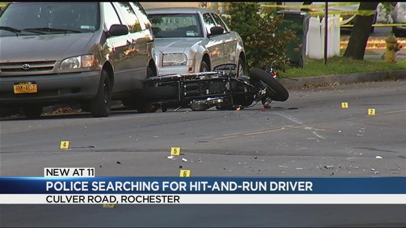 Police searching for Culver Road hit-and-run suspect