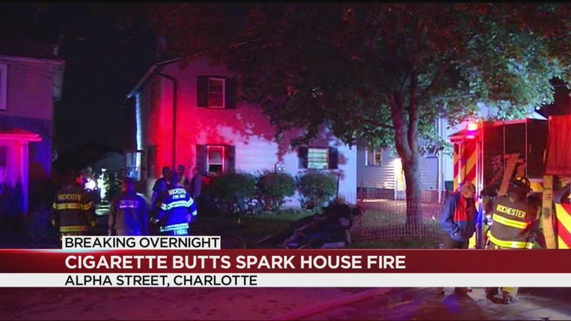 RFD blames cigarettes for house fire in Charlotte