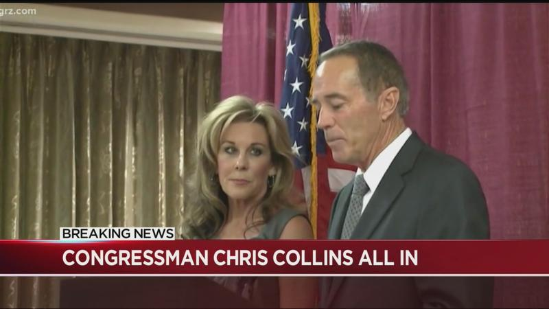 Collins to actively campaign for Congress, reassures voters they can count on him