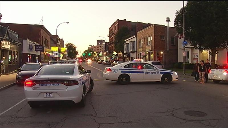 Rochester man hospitalized following Monroe Avenue shooting