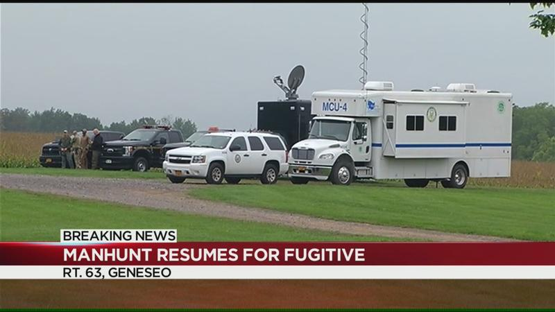 Sheriff: Manhunt for fugitive is now a recovery effort