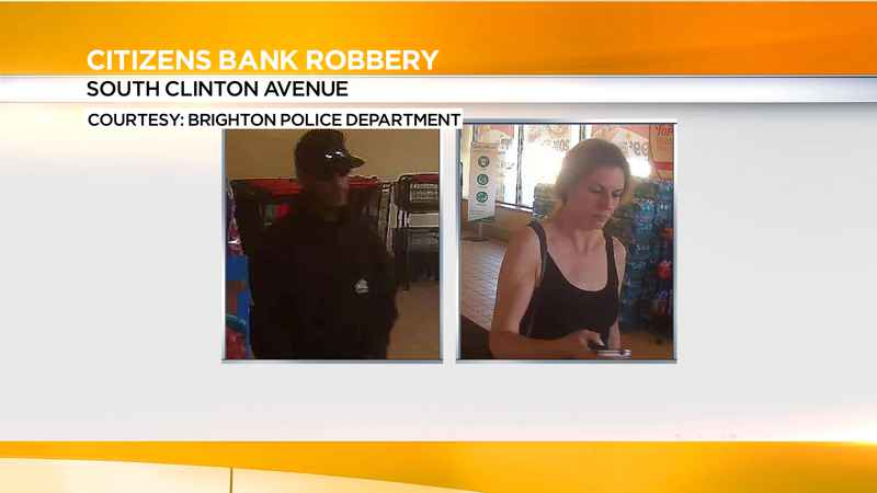 Brighton Police looking for Citizens Bank robbery suspects