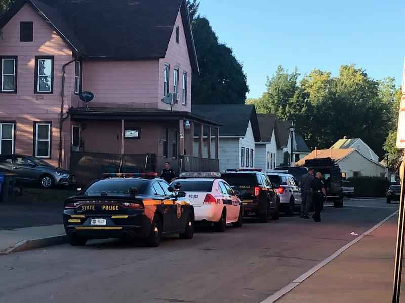 RPD and State Police raid a house in Rochester