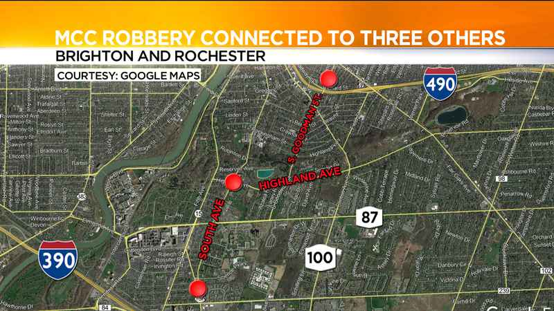 Police: Armed robbery at MCC may be connected to 3 others