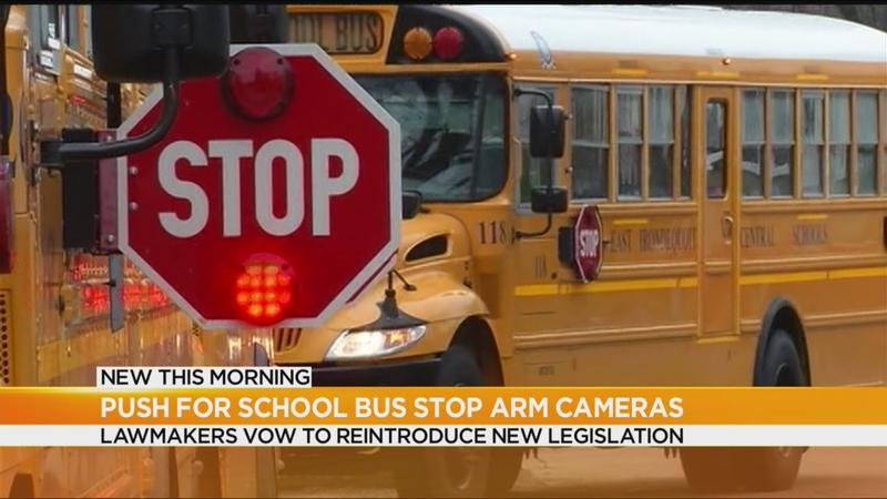 Advocates renew push to add cameras on school bus stop arms
