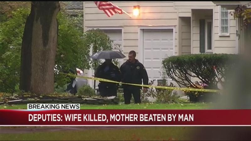 Deputies: Man killed wife, severely beat his mother before killing himself