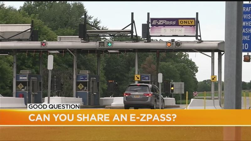 Good Question: Can you share an E-ZPass?