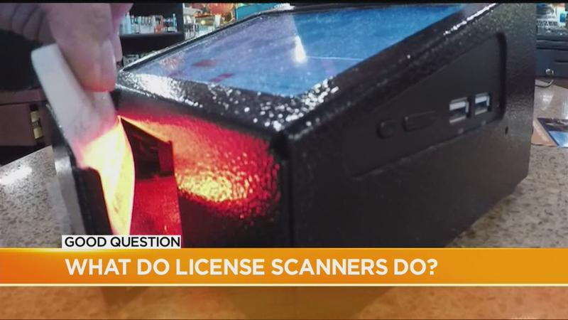 Good Question: What happens when stores swipe your license?