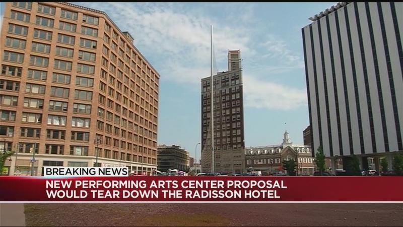 New proposal emerges for downtown performing arts center