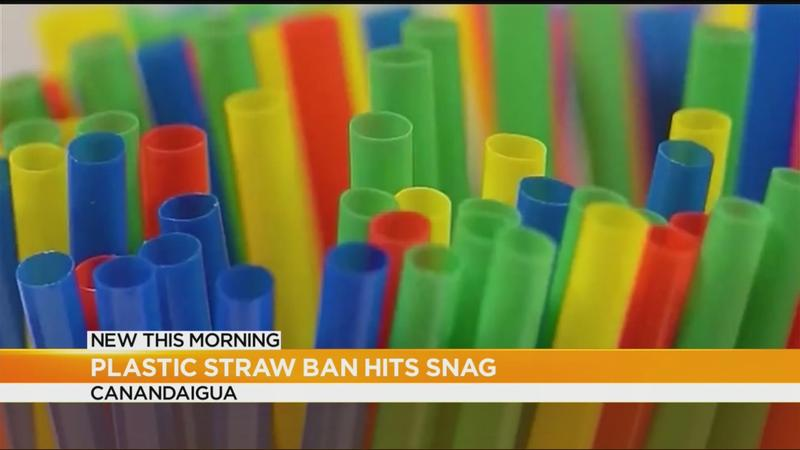 Proposed ban on plastic straws hits snag in Canandaigua