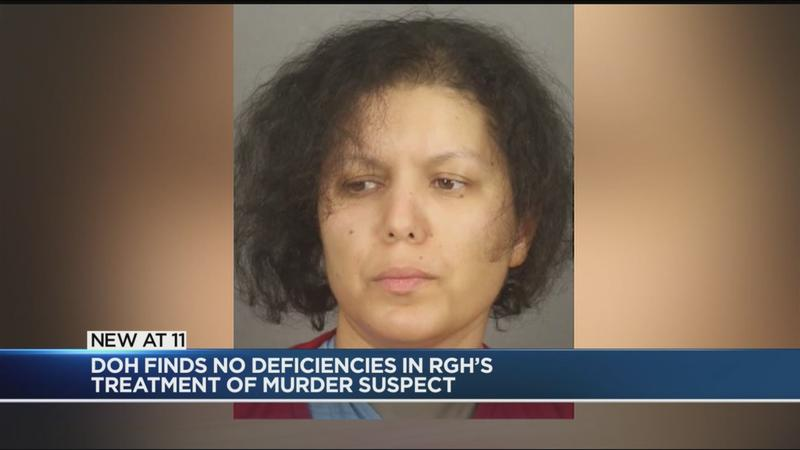 RGH cleared after investigation into care of mom charged in son's murder