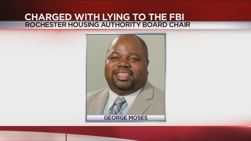 Rochester Housing Authority board chair accused of lying to FBI