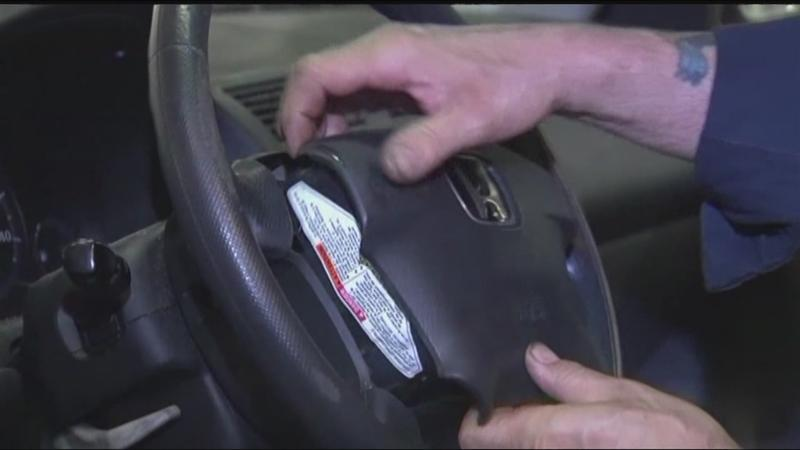 Thieves targeting cars for airbags