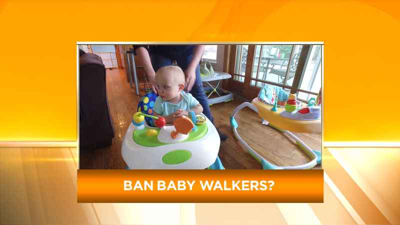 b8eafc118ad4 Pediatricians calling for ban on baby walkers