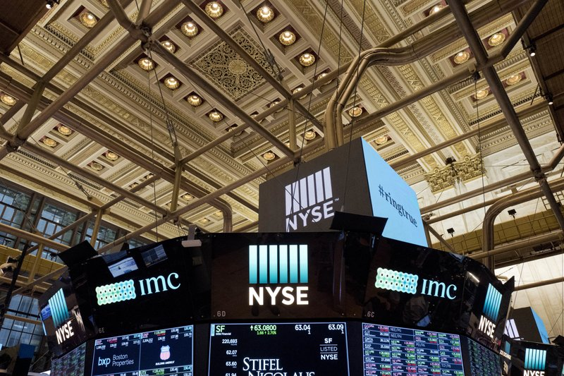 Dow Jones industrials sink 700 points as bond yields rise