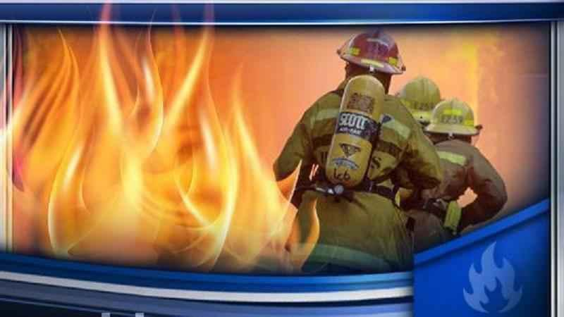 Multiple departments respond to Rush fire