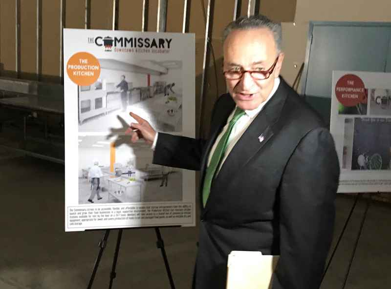 Schumer announces push for Rochester food business incubator
