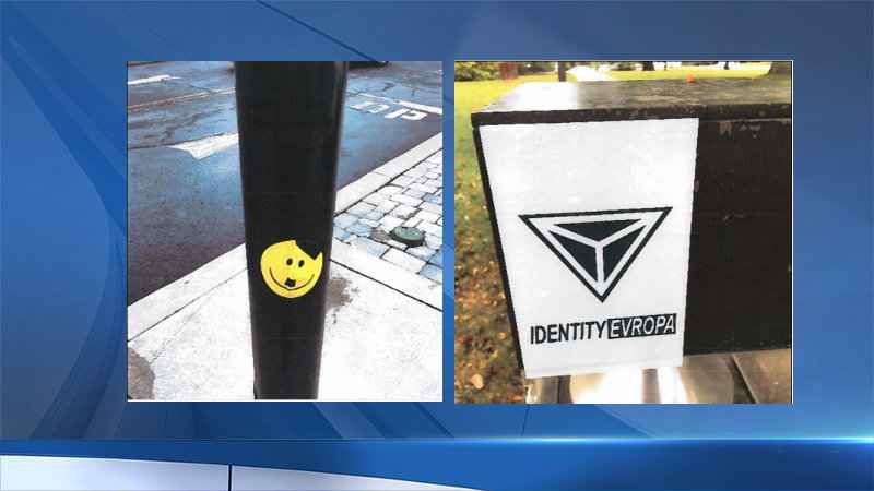 White supremacist stickers found in Pittsford