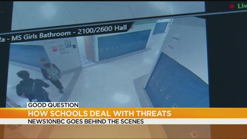 Good Question: How do districts respond to school threats?