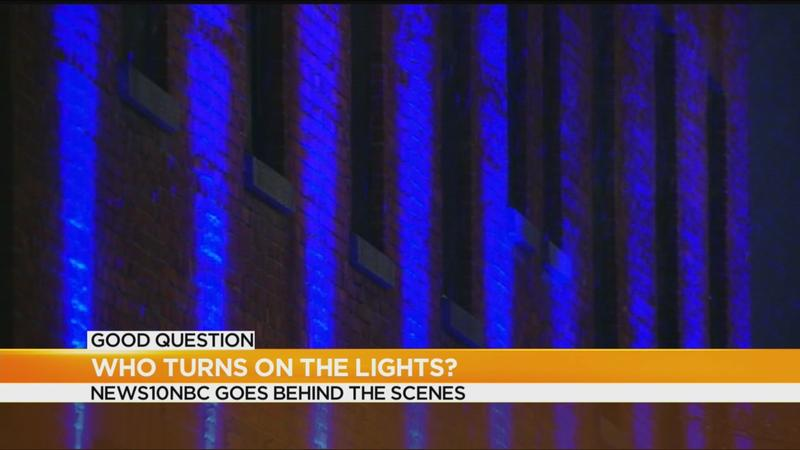 Good Question: Who turns on the lights in downtown Rochester?