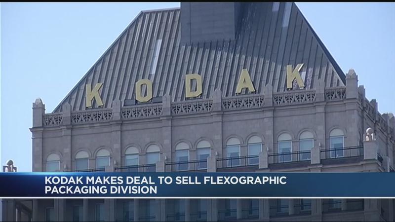 Kodak stocks soar as company <span style=