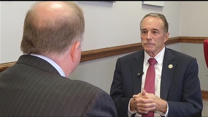 "News10NBC questions Rep. Chris Collins: ""How do you explain all the phone calls?"""