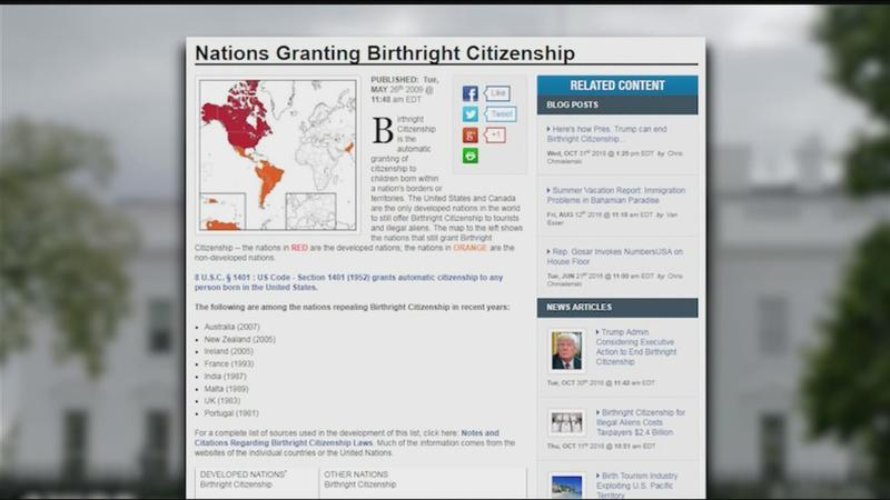 News or Noise: Trump can end birthright citizenship through executive order