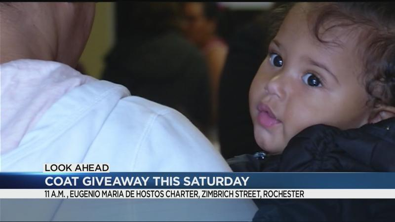 Share the warmth: Coat giveaway this Saturday