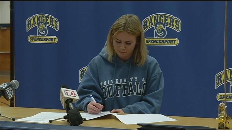 Spencerpot students sign National Letters of Intent