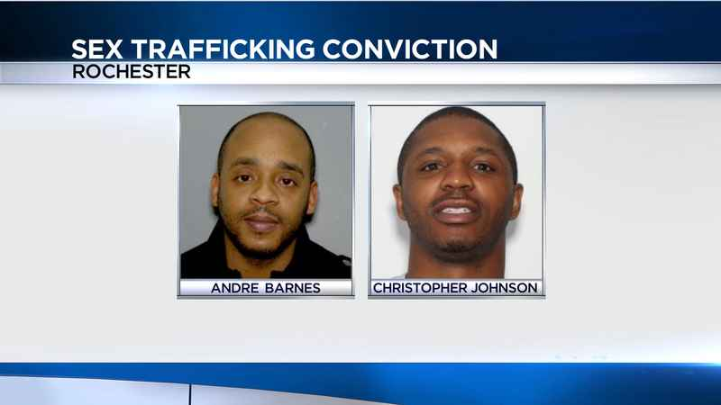 Rochester man convicted of sex trafficking