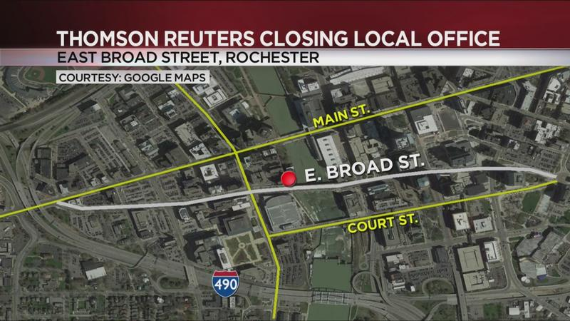 Thomson Reuters closing Rochester office