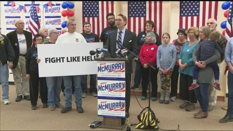 McMurray concedes race for 27th Congressional District