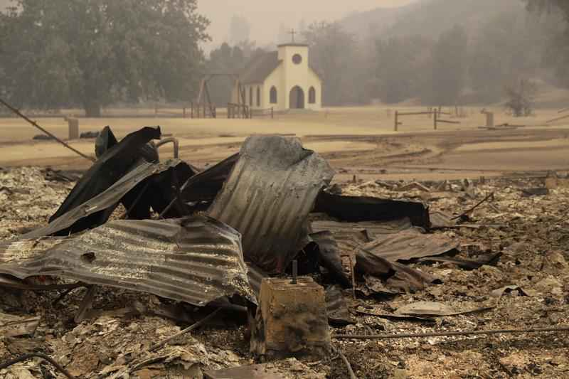 'Westworld' Set Burns Down in California Wildfire