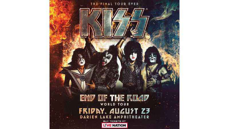 KISS to bring 'End of the Road' tour to Darien Lake
