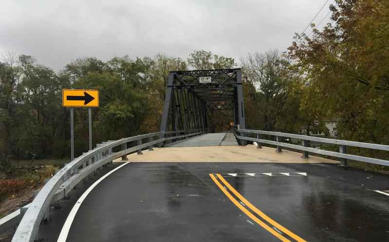 New Marsh Road Bridge stronger than ever