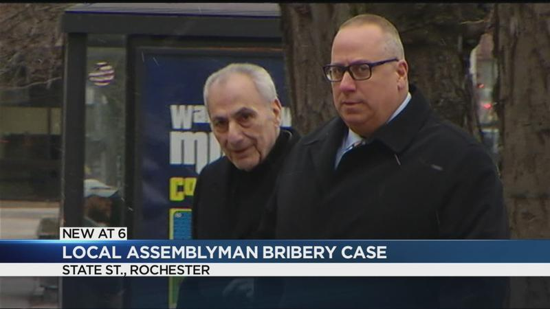 Assemblyman Errigo faces judge on bribery charges; case adjourned until February