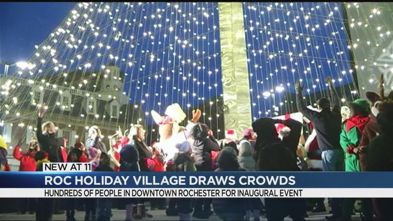 City officials open Roc Holiday Village