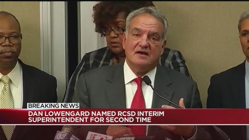 Dan Lowengard named interim superintendent for RCSD