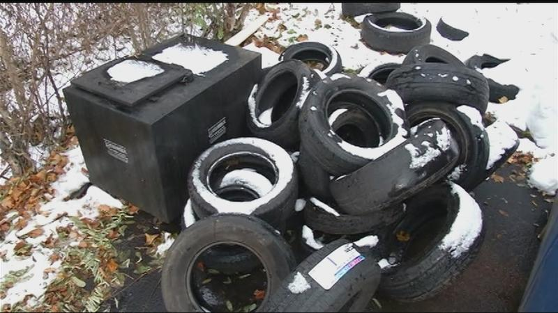 Follow that truck! News10NBC finds out where illegally dumped tires go
