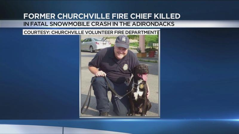 Former Churchville fire chief killed in fatal snowmobile crash