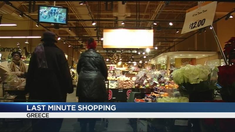 Last-minute Rochester shoppers fighting the clock