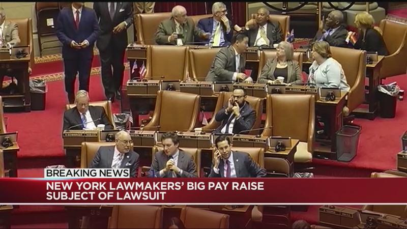 Lawsuit filed over pay raises for state lawmakers