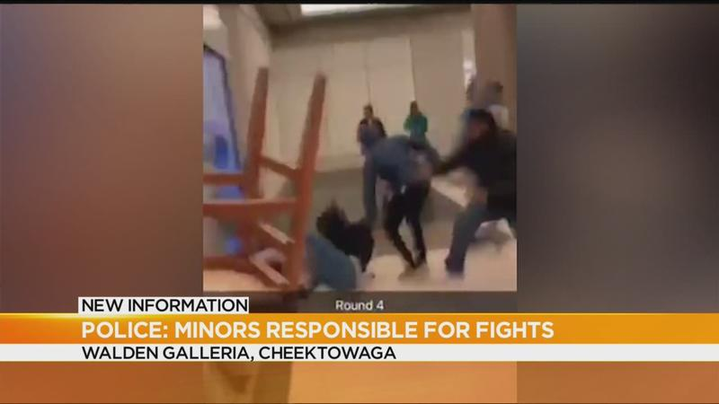 Mall boosts police presence after brawl