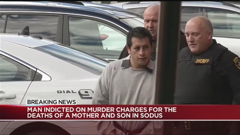 Man accused of killing Wayne County mother, 14-month-old son indicted