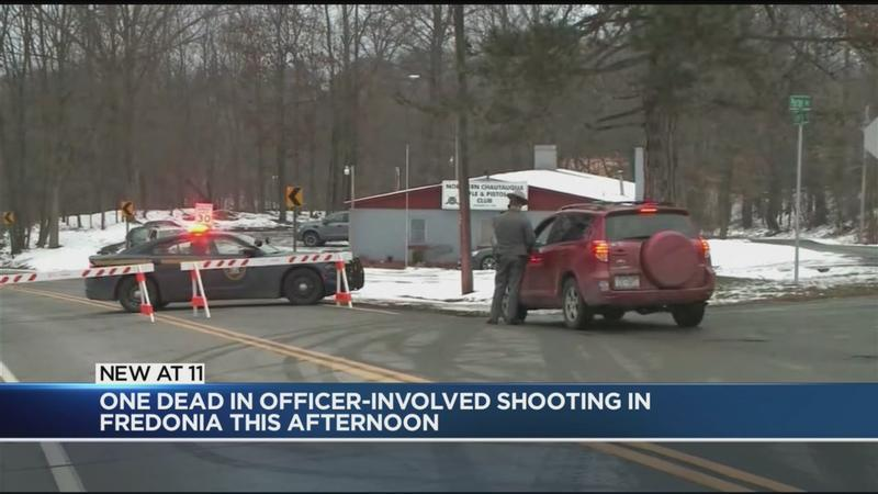 1 dead after officer-involved shooting in Fredonia