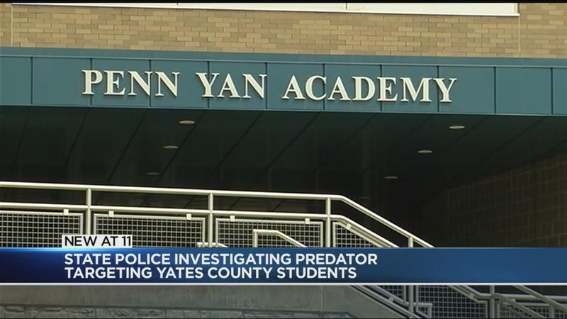 Police investigate online predator targeting students in Yates County