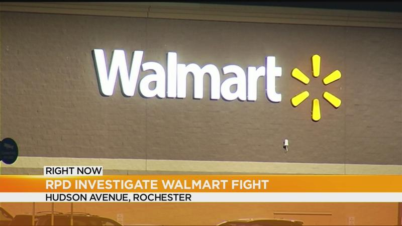 Police investigating fight at Walmart
