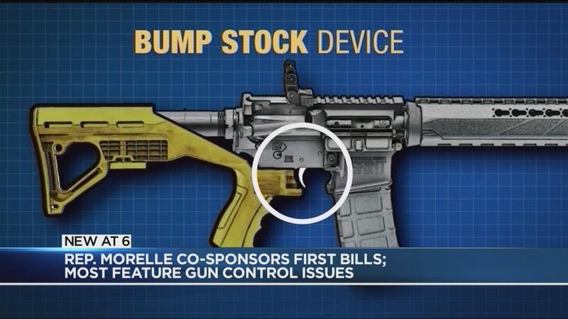 Rep. Morelle co-sponsors first bills; Most focus on gun control